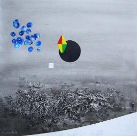 Ölgemälde, Gerard Lecomte Rard, Leinwand