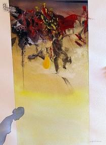 Gerard Lecomte Rard, Paris, Aquarelle