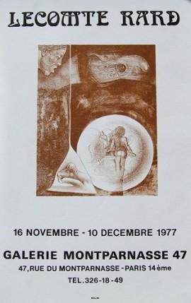 Plakat, Montparnasse, Galerie