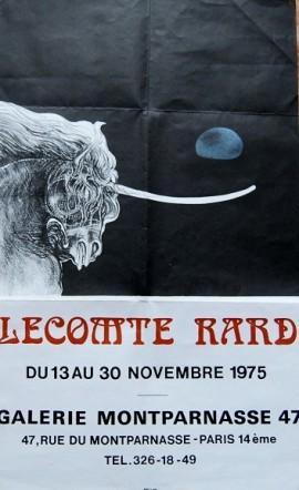 Gerard Lecomte Rard, Montparnasse, Ausstellung
